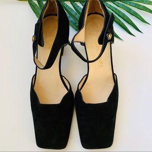Chanel 90s vintage square heel